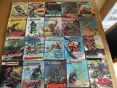 20 Commando for action & adventure comic books   No's 1050-1070  NO 1060