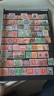 66 timbres des colonies Anglaises (lot2)