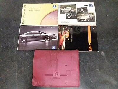 Peugeot 207 Owners Handbook Manual Service History Schedule Dealer Books