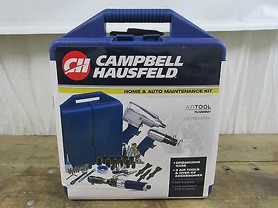 Campbell Hausfeld TL106901 62-Piece Pneumatic Air Tool Socket Kit & Case
