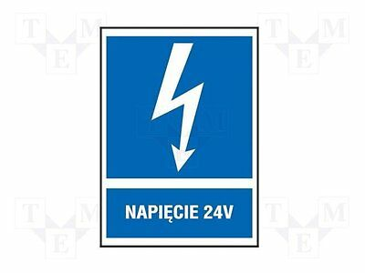 3 pcs Safety sign; informative; W:74mm; H:105mm; FS