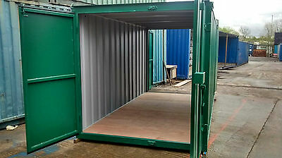 14 x 8 Tunnel Shipping Container For Sale
