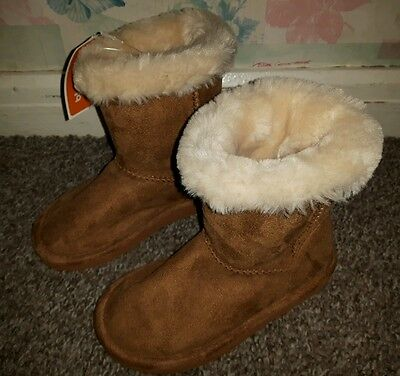 Girls Brown Boots Size 10 Bluezoo Debenhams New