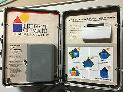 Honeywell PC8900/W8900 Perfect Climate Comfort Center