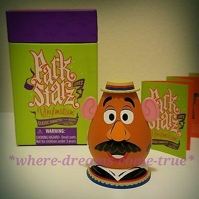 Vinylmation Park Starz Series 4 Mr. Potato Head, Toy Story Mania! Attraction.