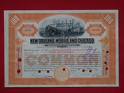 1910 New Orleans, Mobile & Chicago Railroad #B375