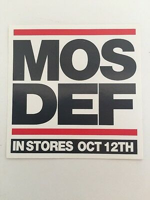 Mos Def Original Sticker Rawkus Records