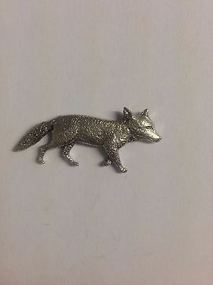 Code Q215 Vixen Made from Solid Fine English Pewter Pin Lapel badge