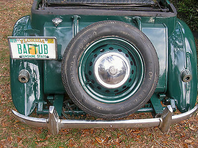 1952 MG T-Series TD-Series 1952 MG TD Roadster with solid floors, rust free body. Garaged. LOW RESERVE