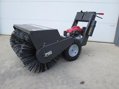 Sweepster WSP36 Walk Behind Sweeper Broom Honda Gas Motor