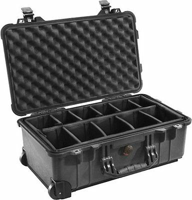 Peli 1510 Protector Case with Dividers Black
