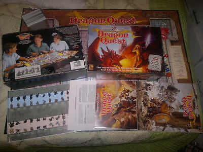DUNGEONS & DRAGONS: DRAGON QUEST BOARD GAME BY TSR 1992 & Metal Figure ,Unplayed