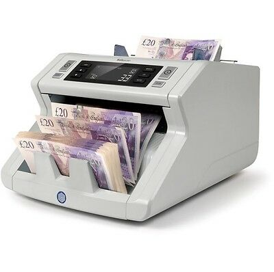 Safescan 2250-S Banknote Counting Machine Automatic Cash Counter Polymer Money