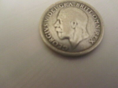 1928  British,george 1V .925 Silvershilling  Great Condition