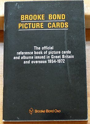 Brooke Bond Official Reference Book of Picture Cards & Albums 1954-1972