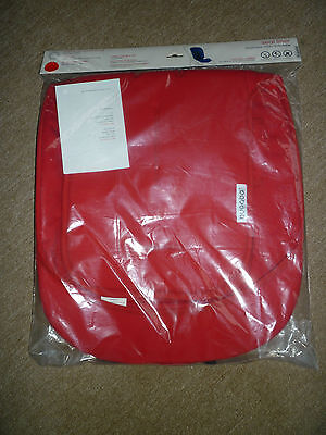 Bugaboo Pushchair Seat Liner-Red colour-Brand New-Still Bagged-Unused