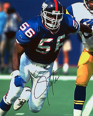 Lawrence Taylor - New York Giants Linebacker - NFL - Signed Autograph REPRINT