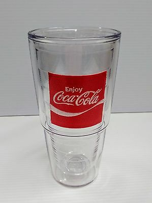 "Coca-Cola 24oz ""Enjoy"" Tervis Tumbler Cup - BRAND NEW"