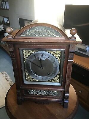 Antique1890 Ting Tang bracket clock