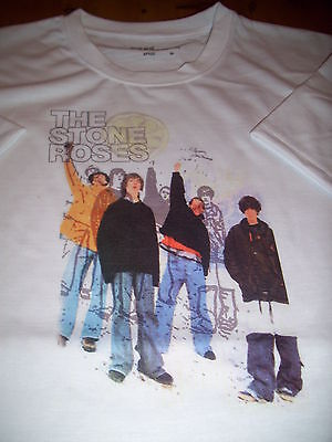 Stone Roses image tee shirt size large 42 chest unique design
