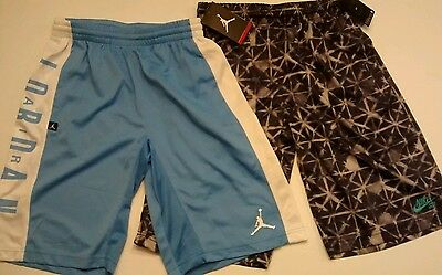 Nike basketball shorts 2pcs  - boy L new with tags