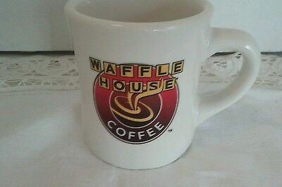 Vtg Waffle House Ceramic Coffee Cup Heavy Americana Restaurant Ware Diner Mug