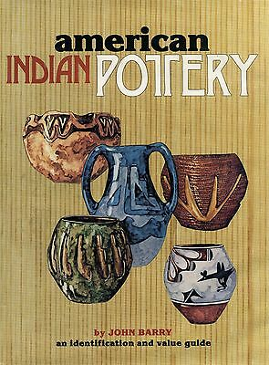 American Indian Pottery Identification - Types Makers Dates Values / Scarce Book