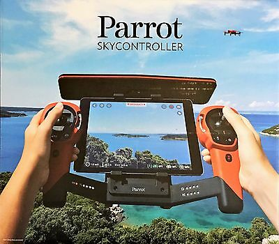 NEW Parrot Skycontroller for Parrot Bebop Quadcopter Drone Red Sky Controller