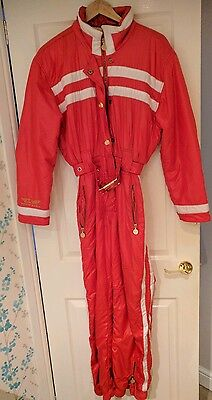 High society ski suit in red size 38 eur