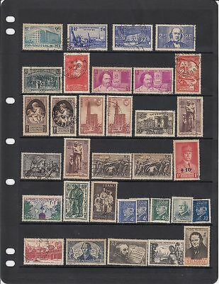 France - Good page stamps