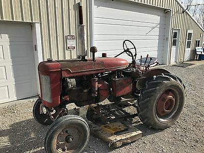 McCormick Farmall A Cultivision Tractor with deck