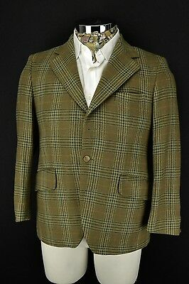 "Dunn & Co Ballantyne 3 Button Jacket size 38"" Ex Short Gamekeeper Check Blazer"