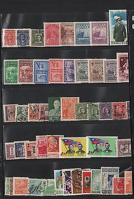 China   Lot Of Old Stamps 3
