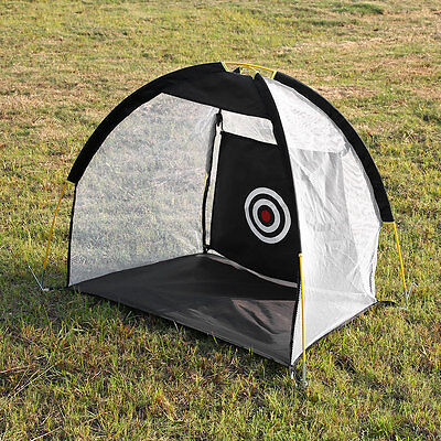 Sports Portable 1M Golf Training Cages Practice Net Training Aid with Mat