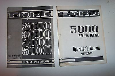 Ford Operators Manual-2,3,4 & 5000