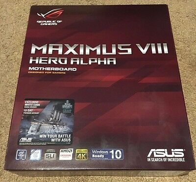 Maximus VIII hero alpha