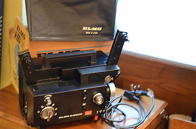 Elmo K100 Sound Super/ Standard 8 Projector excellent condition new belts/ bulb