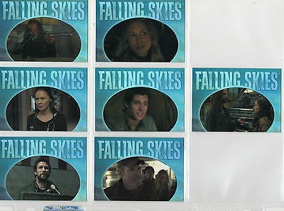 Falling Skies Season 2  -  lot of 7 different Quotable chase cards NM
