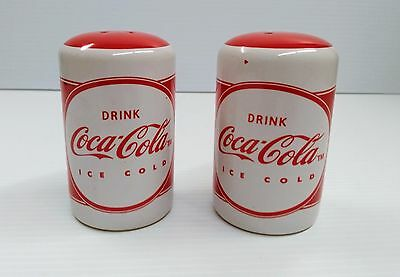 "Coca-Cola ""Ice Cold"" Salt & Pepper Shaker - BRAND NEW"