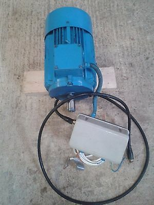 7.5 KW  (10HP) Electric Motor 3 phase 1445 RPM Brook Crompton With Starter