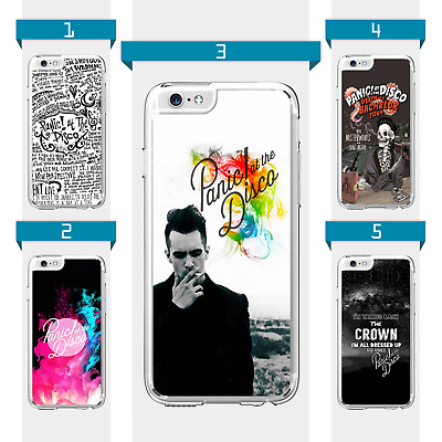 Panic At The Disco Brendon Urie Case For iPhone 5 5C SE 6 6S 7 8 Plus iPod Touch