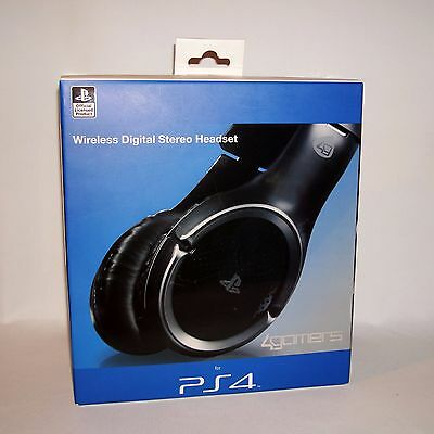 PS4 Wireless Digital Stereo Headset -  Official Licensed Product by 4Gamers 4886