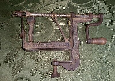 Antique Cast Iron White Mountain Apple Peeler and Corer by Goodell Co.