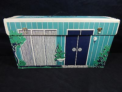 Vintage Barbie Dream House 1962 Mattel With Furniture,picture,albums Extras
