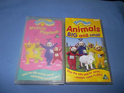 Teletubbies Vhs (Animals Big And Small & Musical Playtime)
