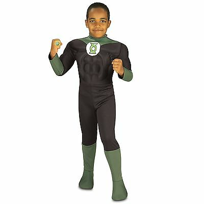 Muscle Chest Green Lantern Boys Costume by Rubies