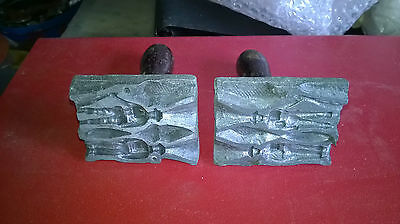 Ww1 Tommy Toy Soldiers Mould Very Rare