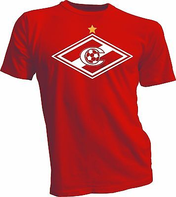 "FC Spartak Moscow Moskva Russia Football Soccer Car Bumper Sticker Decal 5/""X4/"""