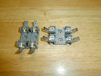 Lot/2 Littelfuse 2 Pole Fuse Block 354902GY,30 Amp,NOS