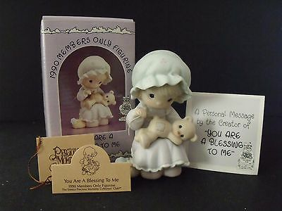 "Precious Moments ""you Are A Blessing To Me"" -#pm-902 - New In Box"